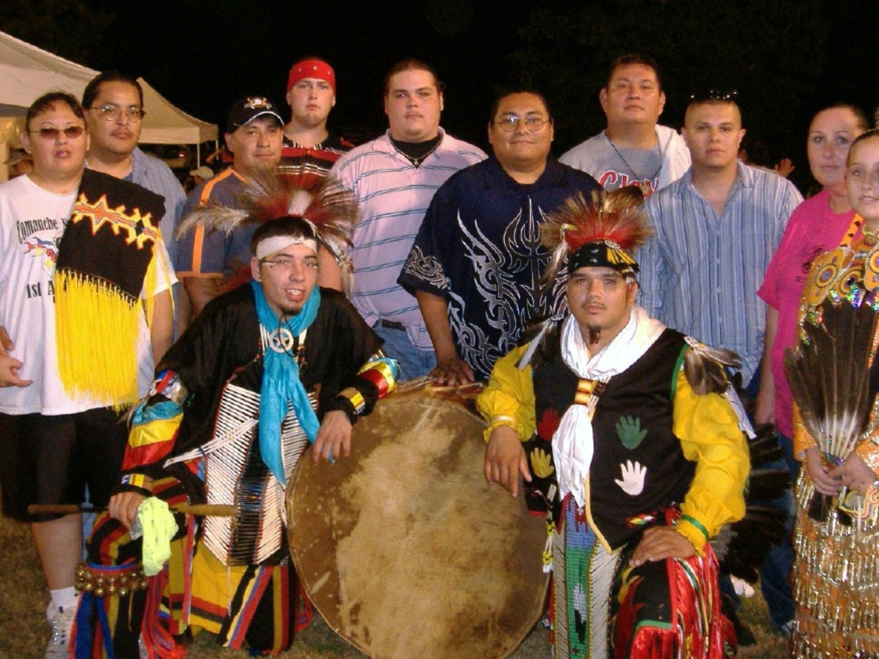 Bad Water Singers bought 3 powwow drums from Drum People