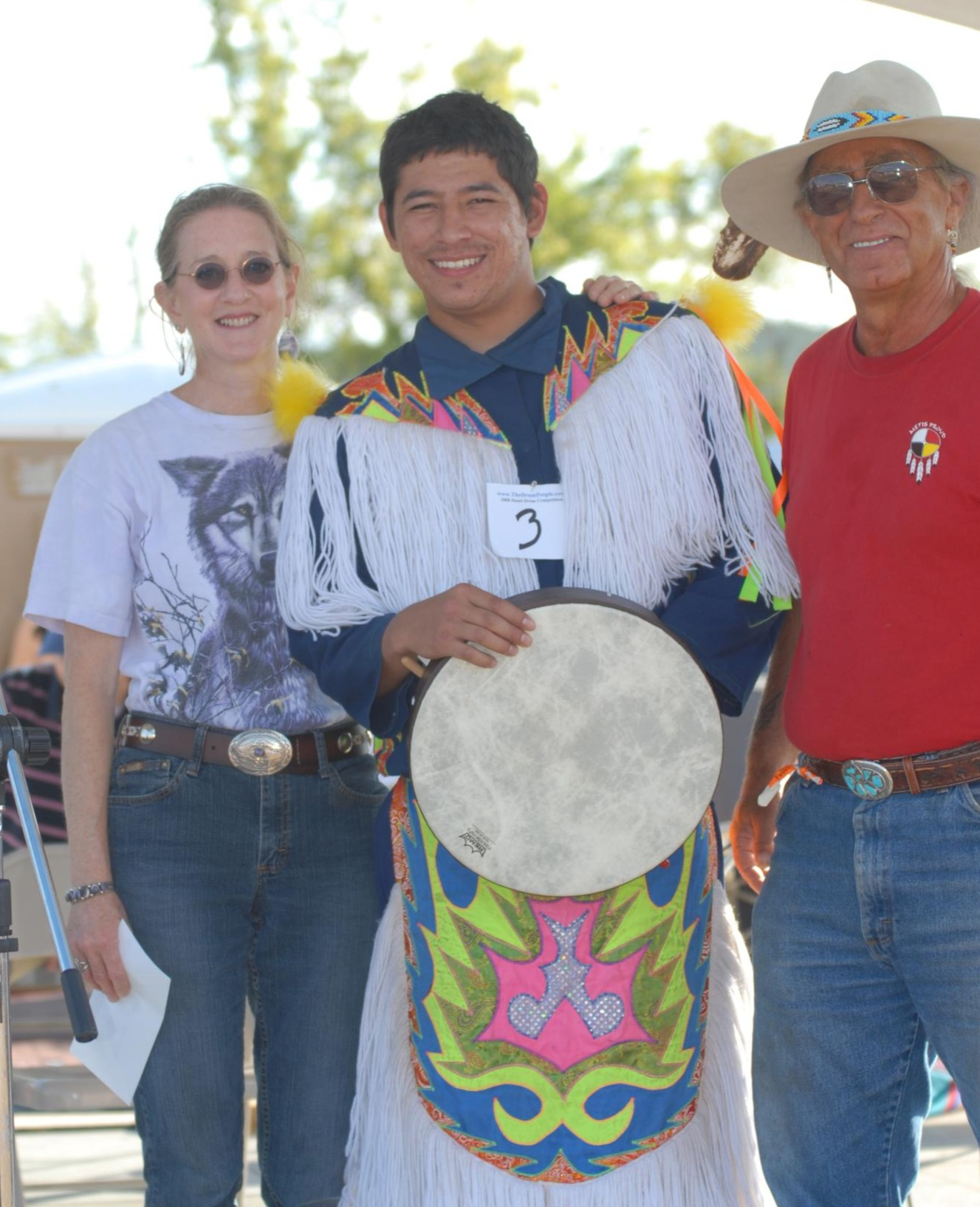The Drum People Native American Hand Drum competition